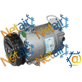 Compressor Delphi Fox Saveiro Voyage Gol G5 G6 1.0/1.6 08