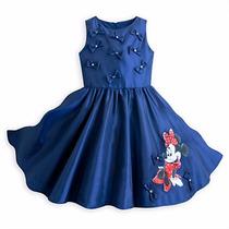 Vestido Fiesta Minnie Mouse Disneystore Talla 6