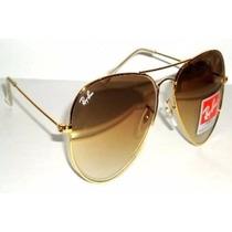 Oculos Rayban Aviador Original Preto Masculino Feminino
