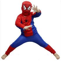 Fantasia Homem Aranha Spiderman Tamanho (p, M, G) Festa
