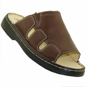 Chinelo Masculino Comfort Em Couro Dr Shoes Frete Gratis