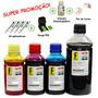 Kit Recarga Hp P/ Impressora Multifuncional Photosmart D110