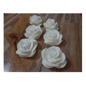 10 Rosas Grandes - Sabonete Artesanal - Lembrancinhas