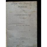 Poesías De Mercedes Marín De Solar - Enrique Del Solar -1874