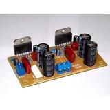 Módulo Amplificador De Audio 150w 8 Ohms - 2x Tda 7294