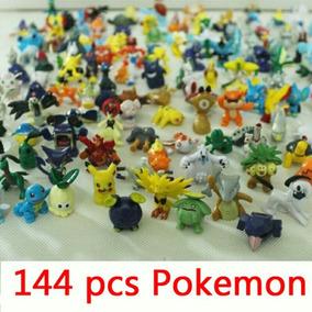 Pokemon Go 144 Miniaturas Bonecos Pikachu Frete Gratis