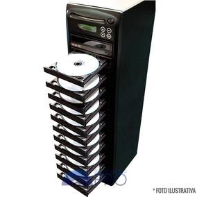 Torre Copiadora De Dvd Cd Com 12 Gravadores Philips Lite-on