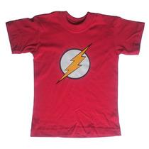 Camiseta Niños Flash - Súper Héroes