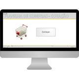 Planilha, Excel, Compras De Produtos, Cotação Editável