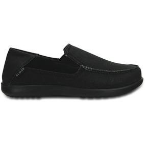 Zapato Crocs Caballero Santa Cruz 2 Luxe Negro