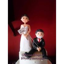 Adorno Casamiento Parejas Porcelana Fria