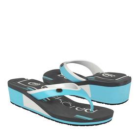 Ecko Red Zapatos Dama Cuñas 7051 Simipiel Aqua
