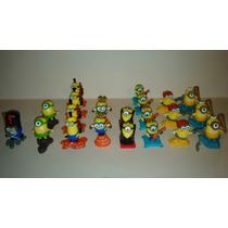 Figuras Miniatura De Minions Huevo Kinder Sorpresa