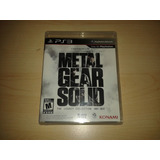 Metal Gear Collection Ps3 Nuevo Sellado Fisico
