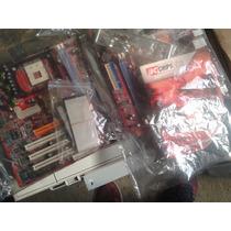 Placa Soquete 478 P25g Chipset Via