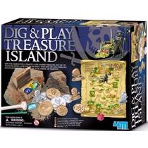 4m 3566 Dig And Play - La Isla Del Tesoro Giro Didactico