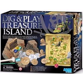 4m Kit Dig And Play La Isla Del Tesoro - Giro Didáctico