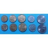 Lote #1 Monedas 1971 Escudos - Gobierno Salvador Allende (5)