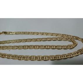 Cadena Tejido Egipcio Diamantado En Oro Laminado 24k Envío