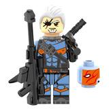 Figura Deathstroke The Arrow Flecha Verde Compatible Lego