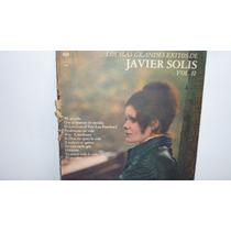 Lp Vinilo Javier Solis - Los Mas Grandes Exitos De Vol2