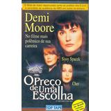 Filme Fita Vhs O Preco De Uma Escolha Demi Moore 1996