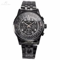 Ks Kronen & Sohne Reloj Deportivo Militar Automático Nuevo!