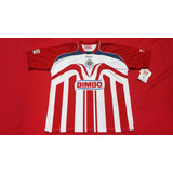 Jersey Chivas 2006 2007 Reebok Once Estrellas Original Nuevo