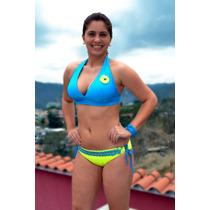 Traje De Baño Para Dama Faja Gruesa T: Xl Playa Iguanas