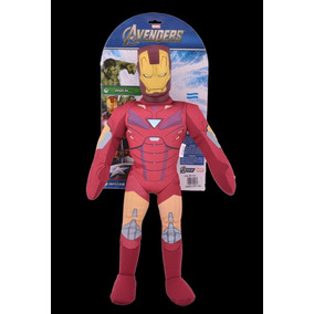 Muñeco Soft Paño Iron Man Original New Toys