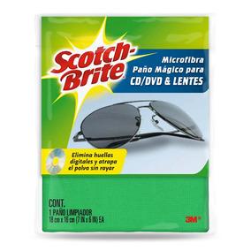 3m Scotch Brite Paño De Microfibra Para Cd/dvd/lentes