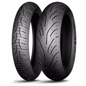 Pneu Par 120/70-17 E 190/50-17 Road 4 F4 1000 - Michelin
