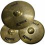 Set De Pratos Krest Aged Brass Com Bag (loja W Music)