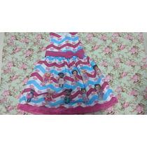 Vestido Infantil De Luxo Menina Baby Alive
