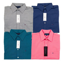 Camisas De Vestir Lacoste Tommy Hilfiger Ralph Vv4