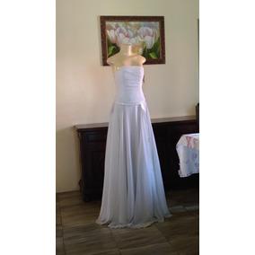 Vestido De Noiva Tomara Que Caia Branco Puro Seda