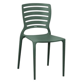 Cadeira De Polipropileno E Fibra - Tramontina (grafite)