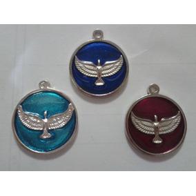 Medallas Espiritu Santo Resinadas