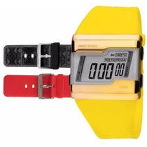 Relógio Mormaii Digital Kit Troca Pulseira Fza/8c