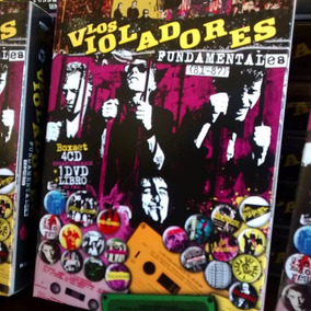 Los Violadores Fundamentales 81-87 Box Set 4cd+dvd+libro