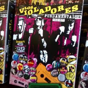 Los Violadores Fundamentales 81-87 Box Set 4 Cd + Dvd+ Libro
