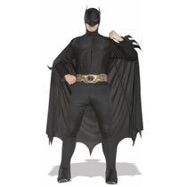 Traje De Batman Deluxe - Grande - Pecho Talla