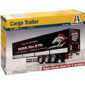 Italeri Trailer Remolque Caja Cargo Trailer 1/24 Armar Pinta