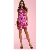 Vestido Com Estampa Digital Em Cotton Malwee