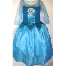 Disfraz De Princesa Elsa De Frozen