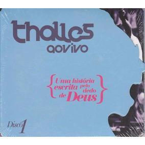 Cd Thalles - Uma História Escrita Pelo Dedo De Deus Disco 1