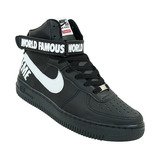 Air Force Supreme Sneaker Lindo Unissex 4 Cores