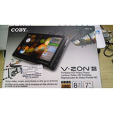 Reproductor De Video Hd 7 Coby 8gb.