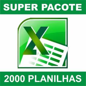 Mais De 2000 Planilhas Editáveis No Formato Excel
