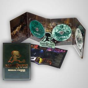 Digipack Premium Natiruts Reggae Power Ao Vivo, Dvd + Cd Dup